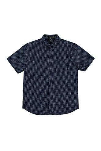 Forever21 Woven Short-sleeve Shirt
