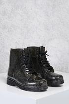 Forever21 Glitter Rain Boots