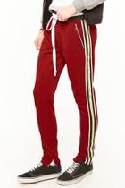 Forever21 Lifted Anchors Track Pants