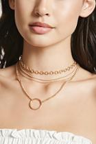 Forever21 O-ring Layered Necklace