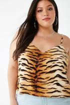 Forever21 Plus Size Tiger Print Cami