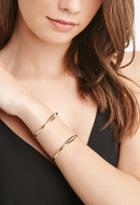 Forever21 Engraved Cuff Set