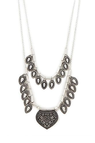 Forever21 Teardrop Pendant Necklace