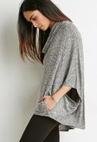 Love21 Marled Cowl Neck Sweater