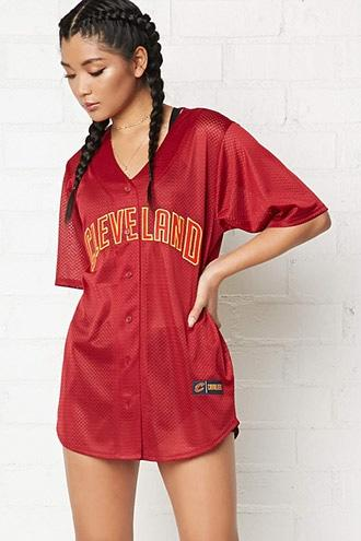 Forever21 Nba Cavaliers Jersey Shirt