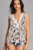 Forever21 Floral Swing Top