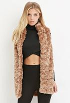 Love21 Faux Fur Longline Vest