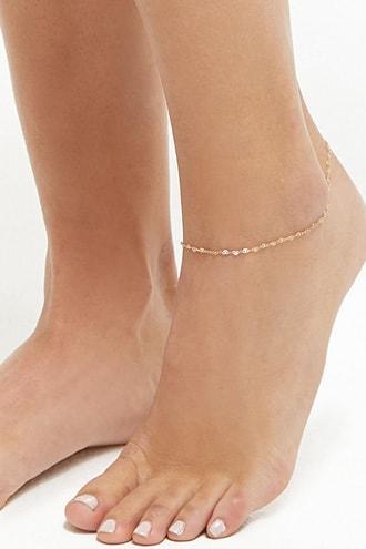 Forever21 Pretzel Chain Anklet