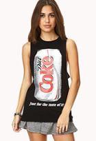 Forever21 Diet Coke Muscle Tee