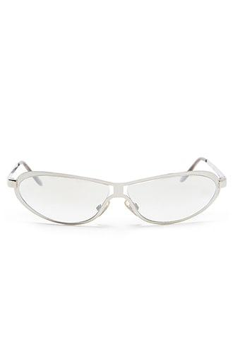 Forever21 Clear High-polish Sunglasses