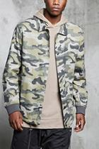 Forever21 Camo Print Army Jacket