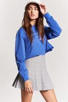 Forever21 Plaid Pleated Skirt