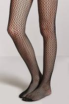 Forever21 Sheer Geo Tights