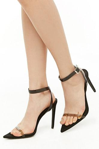 Forever21 Pointed Toe Stiletto Sandals
