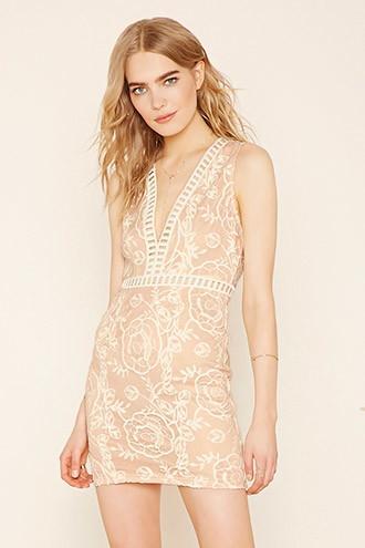 Love21 Women's  Contemporary Sheath Dress