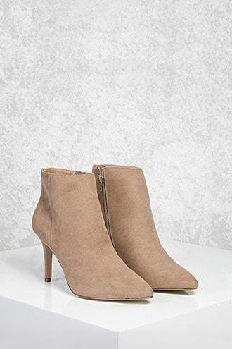 Forever21 Stiletto Ankle Boots