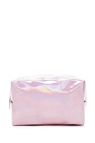 Forever21 Iridescent Glitter Makeup Bag