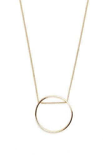 Forever21 Ring Pendant Necklace