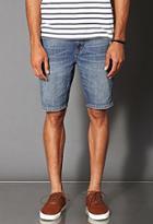 21 Men Distressed Denim Shorts