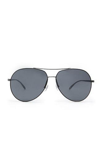 Forever21 Cutout Flat Lens Aviator Sunglasses
