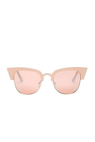 Forever21 Melt Browline Cateye Sunglasses