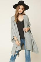Forever21 Women's  Heathered Knit Shawl