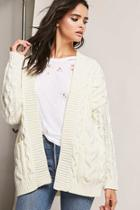 Forever21 Cable-knit Cardigan