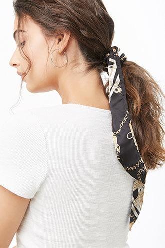 Forever21 Chain Print Hair Tie