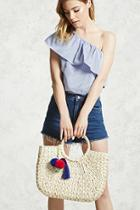 Forever21 Straw Tote Bag