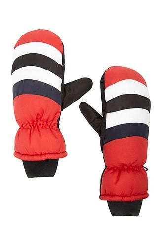 Forever21 Padded Colorblock Mittens