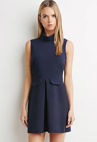 Love21 Pleated Sheath Dress