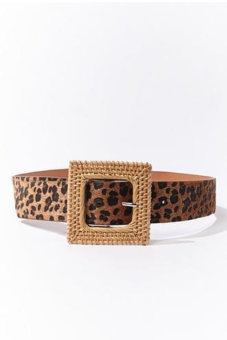 Forever21 Leopard Print Belt
