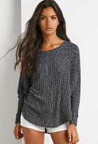 Forever21 Ribbed Knit Dolman Top
