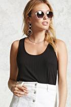 Forever21 Ribbed-knit Top