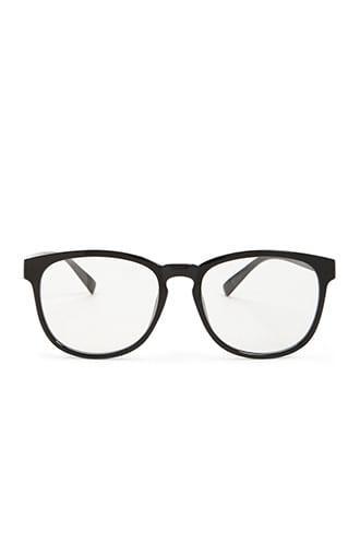 Forever21 Men Clear-lens Plastic Sunglasses