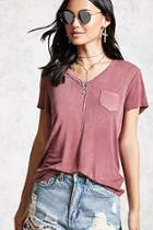 Forever21 Pocket Front Tee