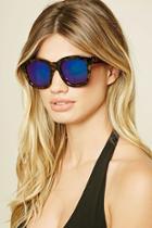 Forever21 Iridescent Square Sunglasses