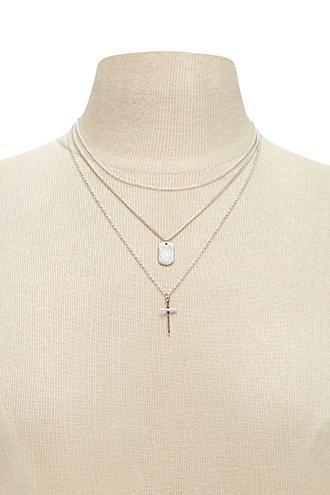 Forever21 Pendant Necklace Set