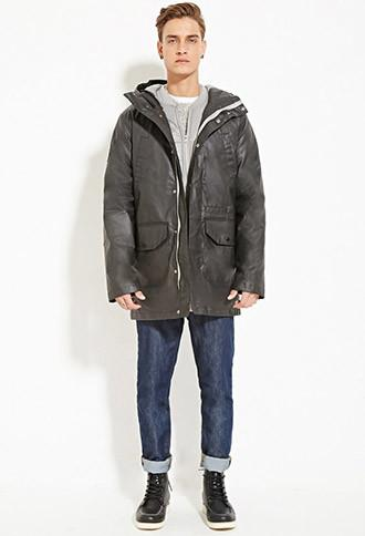 21 Men Bellfield 2-in-1 Pinto Parka