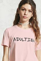 Forever21 Adultish Graphic Tee