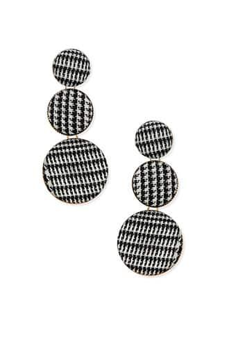 Forever21 Houndstooth Drop Earrings