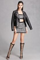 Forever21 Knee-high Gladiator Boots