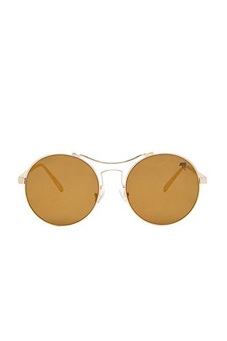 Forever21 Melt Round Mirrored Sunglasses