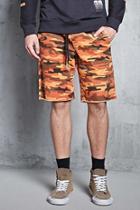 Forever21 Camo Drawstring Shorts