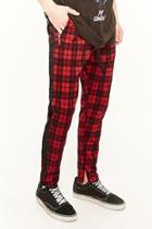 Forever21 American Stitch Plaid Track Pants