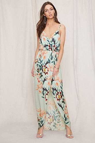 Forever21 Pretty By Rory Floral Maxi Dress