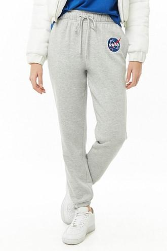Forever21 Nasa Patch Sweatpants