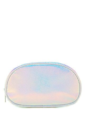 Forever21 Iridescent Makeup Pouch