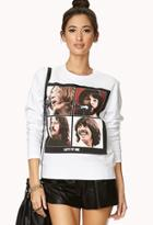 Forever21 Let It Be Sweatshirt
