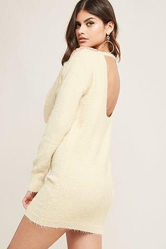 Forever21 Fuzzy Knit Tunic
